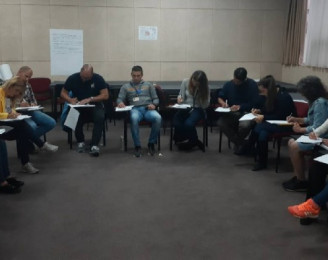 Migration training center team organized in Pirot and Vranje the training for the protection of migrants.