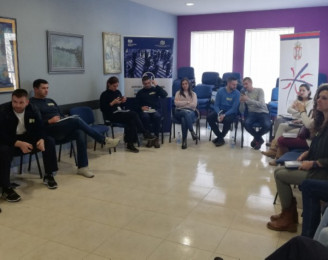 Training of service providers working with migrants and refugees ended by the trainings held in Krnjača, Obrenovac and Adasevci/Šid.